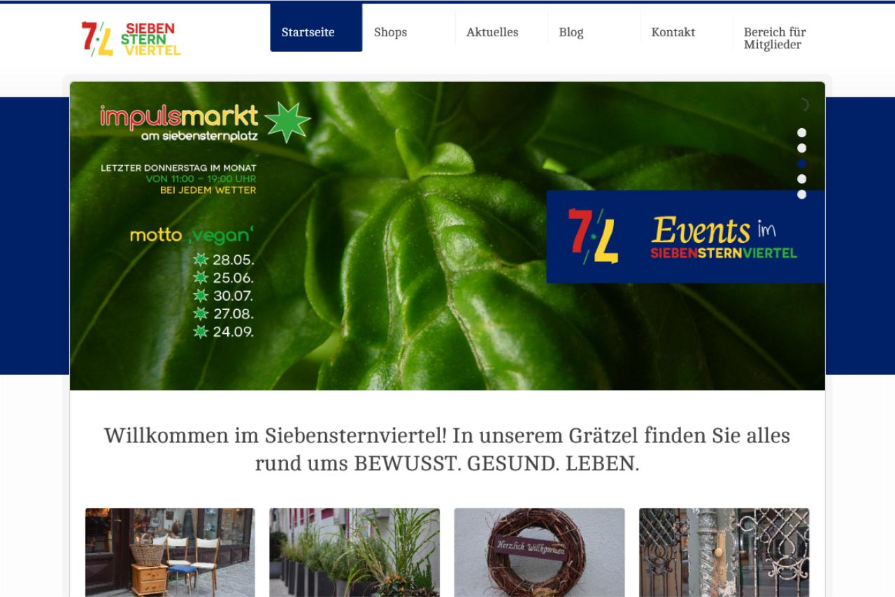 WEBSITE SiebenSternViertel