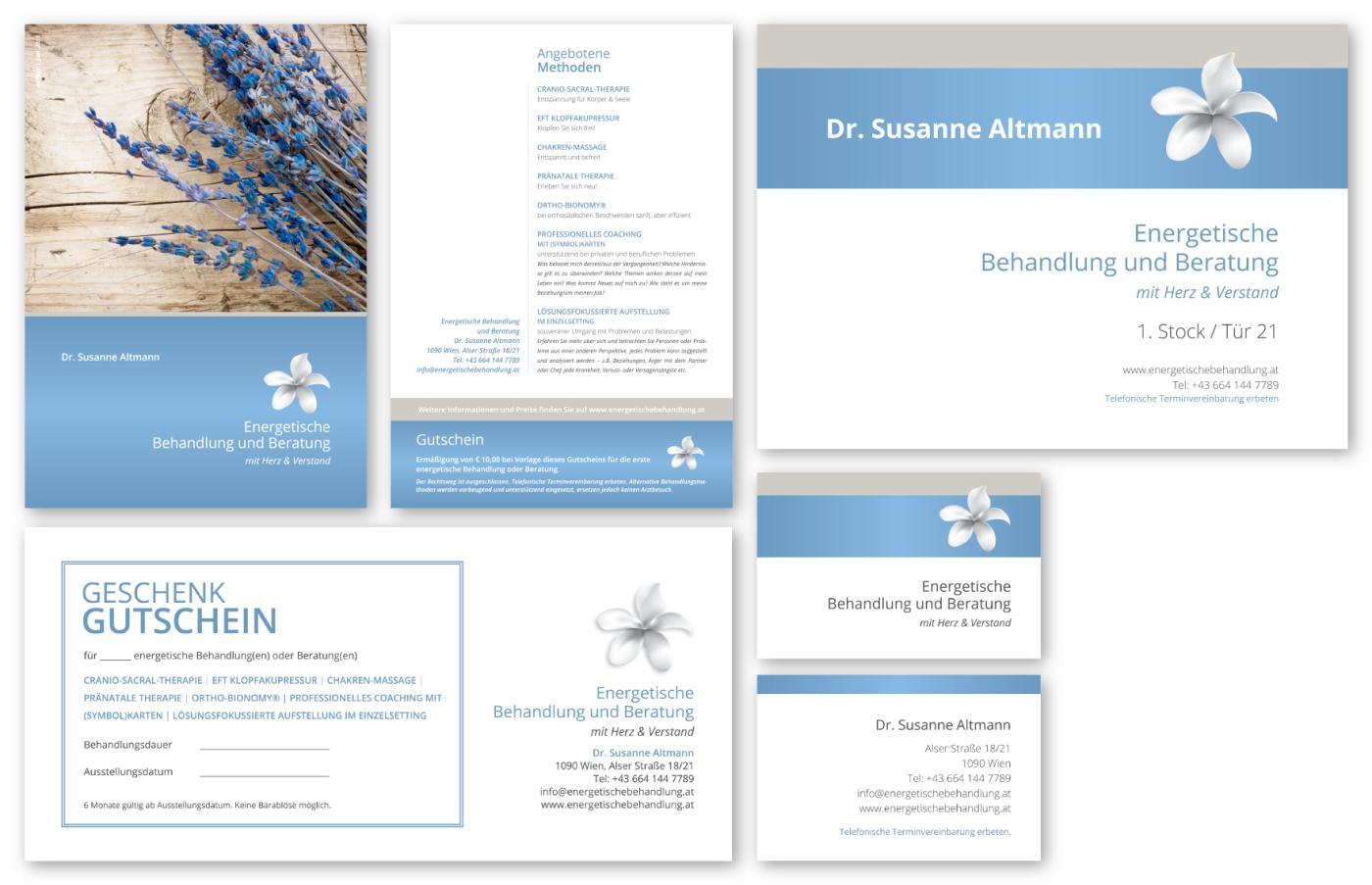 Design Energetische Behandlung & Beratung